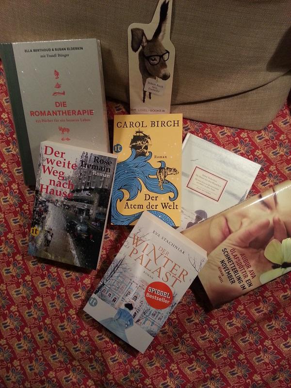 Bücherpaket gewonnen