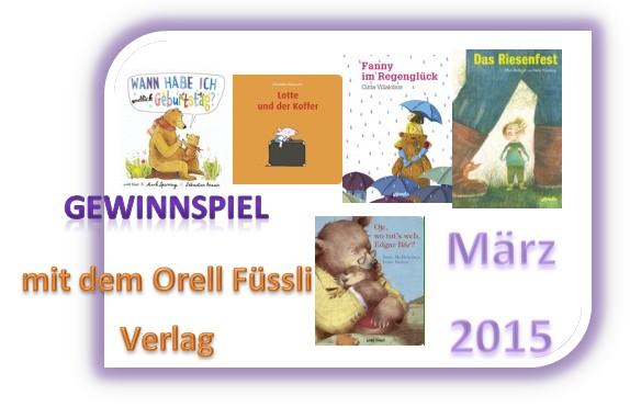 Gewinnspiel März 2015 – Literatur für Kinder