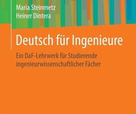 Buchvorstellung: Deutsch für Ingenieure