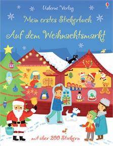 Buchtipp | Mein erstes Stickerbuch: Auf dem Weihnachtsmarkt