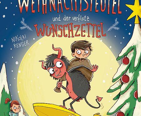 Rezension Kinderbuch | Lott, Anna: Der kleine Weihnachtsteufel und der verflixte Wunschzettel