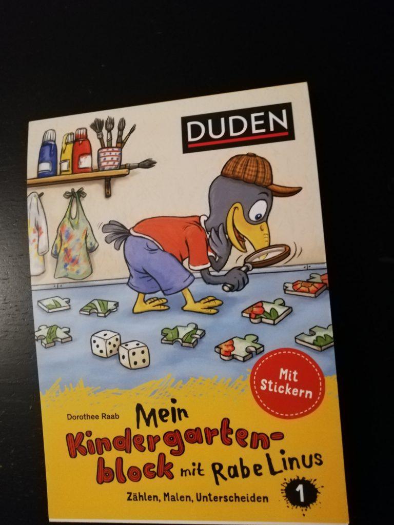 Weihnachten Duden.Rezension Kinderbuch Duden Mein Kindergartenblock Mit Rabe Linus