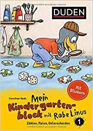 Rezension Kinderbuch | Duden: Mein Kindergartenblock mit Rabe Linus