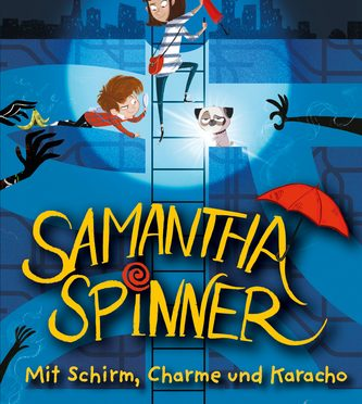 Rezension Kinderbuch | Ginns, Russell: Samantha Spinner